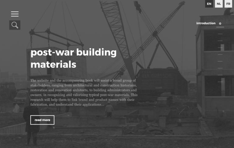 Post War Building Materials