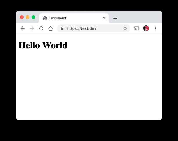 localhost en HTTPS avec MAMP Pro