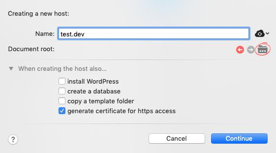 Créer un hôte avec MAMP et activer SSL
